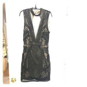 Babe Sequins black dress